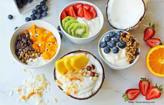 Yogurt bowls - blog